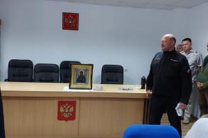 Встреча ветеранов с личным составом регионального подразделения